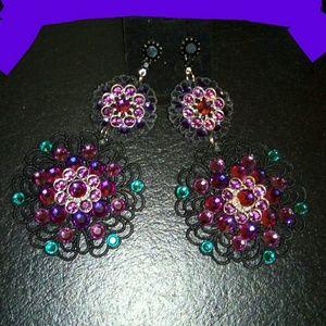 Sparkling starchild earrings